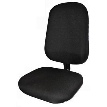 Assento e encosto para cadeira diretor