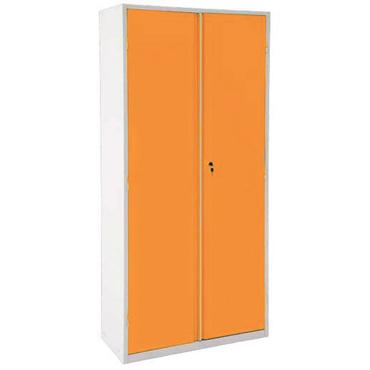 Armário em MDP ou MDF na cor laranja