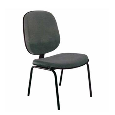 Cadeira diretor fixa 4 pés