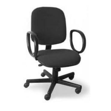 Cadeira diretor giratória com braços corsa