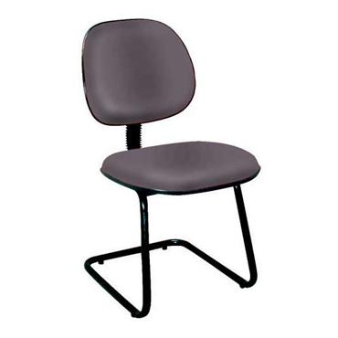 Cadeira fixa executiva – L sanfonado com pé Eski