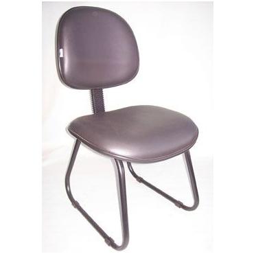 Cadeira fixa cinza