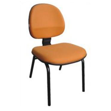 Cadeira fixa laranja