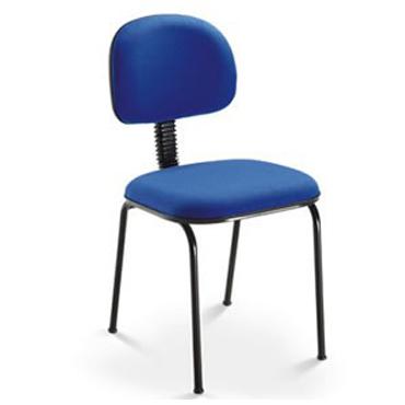 Cadeira fixa com L sanfonado