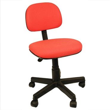 Cadeira Secretária giratória sem braço com L sanfonado