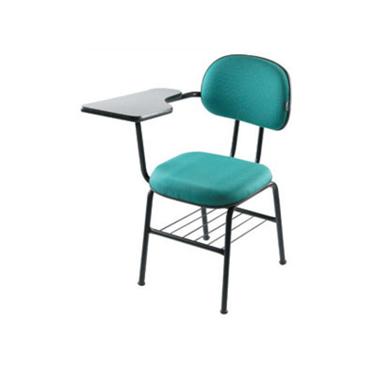 Cadeira universitária com prancheta