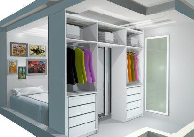 móveis projetados