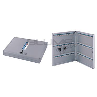 Organizador de chaves em alumínio C72 chaves claviculário